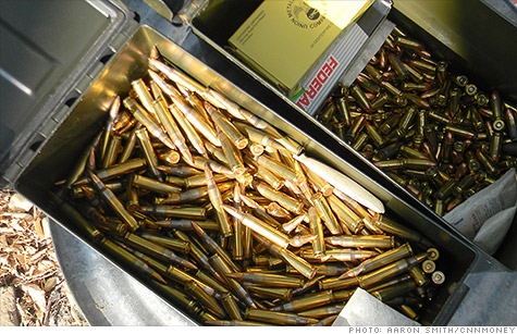 AR-15 ammunition is readily available, in bulk, from online retailers.