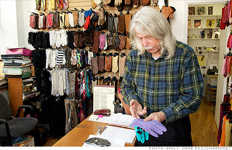 Jay Ruckel and his wife, Lacrasia Duchein, are the last custom-made glove makers left in New York's Garment District.