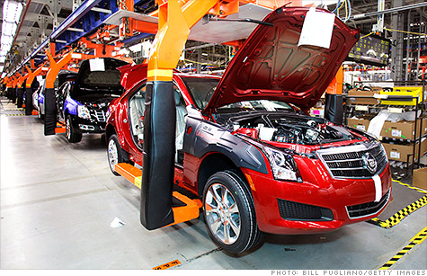 GM earned $2 billion in North America in the second quarter, but losses in Europe hurt its results.