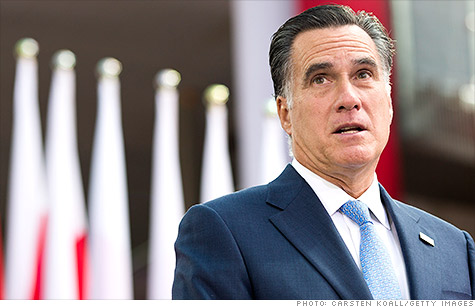 Romney promises 12 million jobs in first term.