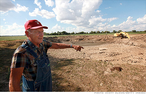 This year's drought is expected to bring record breaking crop insurance losses.
