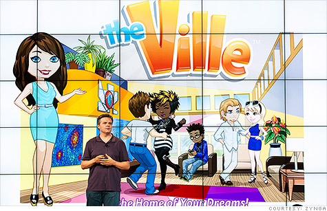 A Zynga executive introduces The Ville, a game Electronic Arts says is a direct copy of The Sims Social.