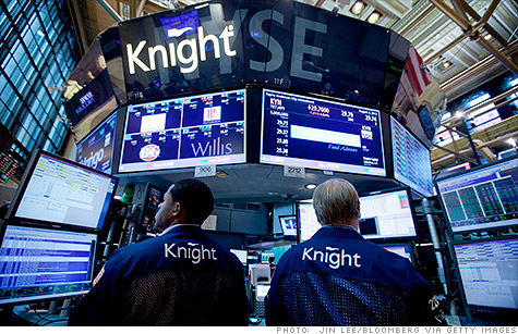 Knight Capital Gets $400 Million Rescue, Shares Tumble; Blackstone, Getco, Ameritrade Win