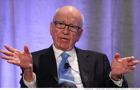 Rupert Murdoch's News Corp. reported a $1.6 billion quarterly net loss on Wednesday due to a write-down in the value of its publishing businesses.