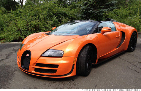 The latest version of the Veyron ups the ante on power a bit and on price, by a lot.