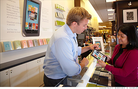 Facing steep competition, Barnes & Noble has slashed prices on its Nook e-reader.