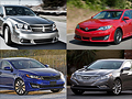 12 mid-size cars for 2012