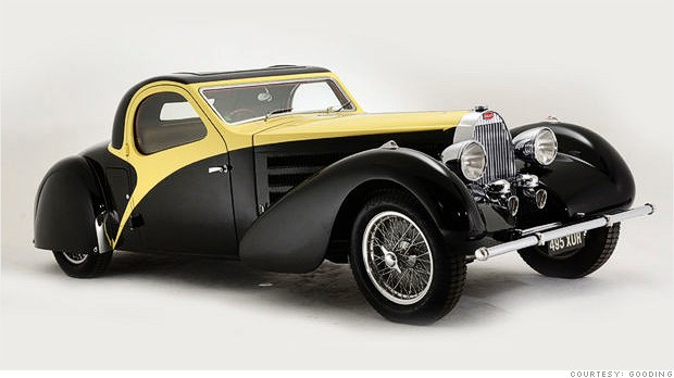 1936 bugatti type 57 atalante cool collectible cars for sale at pebble beach cnnmoney. Black Bedroom Furniture Sets. Home Design Ideas