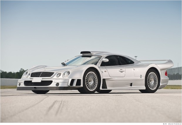 Cool collectible cars for sale at pebble beach 1998 for 2 5 million mercedes benz