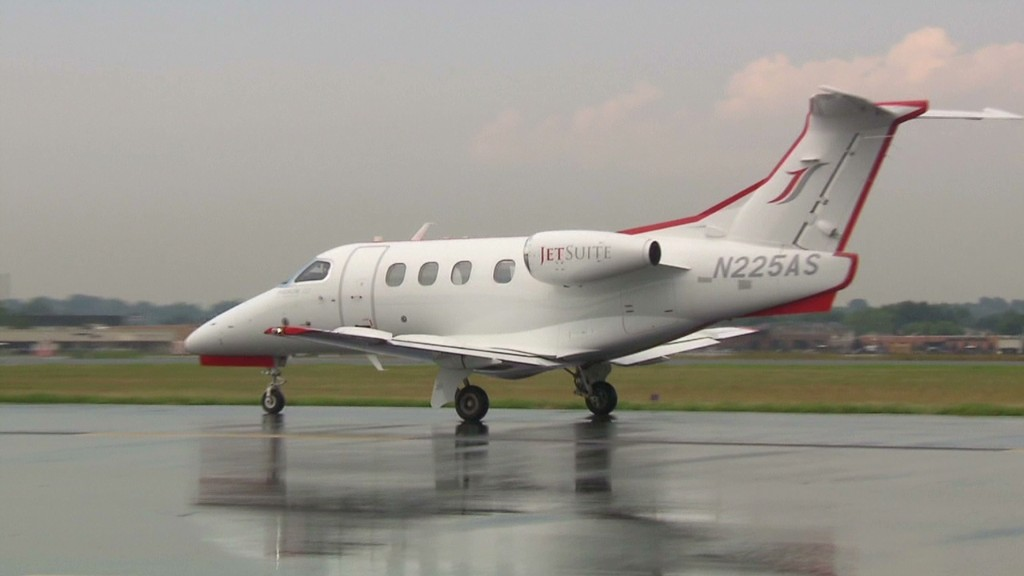 Private jet travel for the not-so-rich