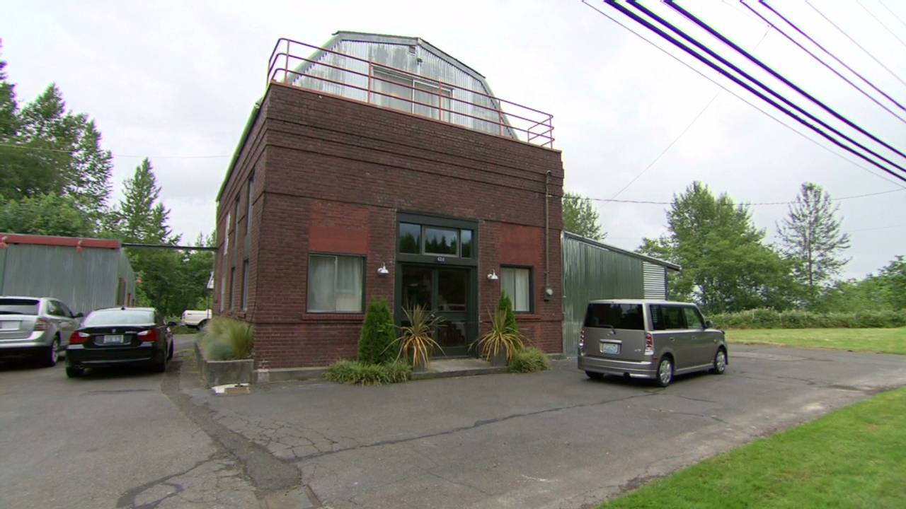 Ed Augustavo gutted an old Seattle Water Works pump station and converted  it into an industrial loft-style home.