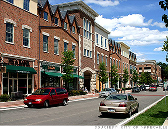 Best Places Top Earning Naperville IL