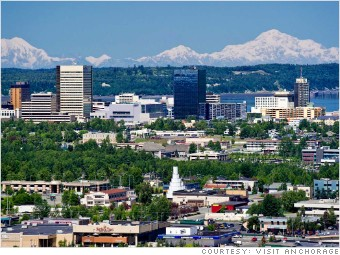 Best Places Job Growth Anchorage AK