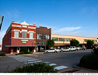 Best Places Job Growth Enid OK