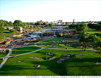 Best Places Job Growth Sioux Falls SD