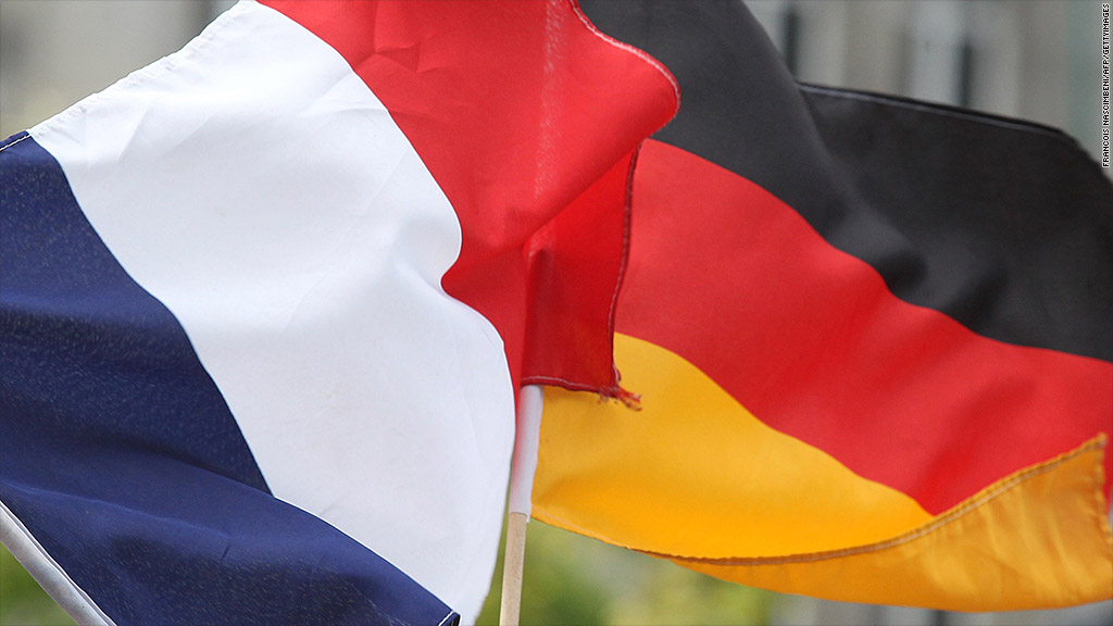 france, germany, flags