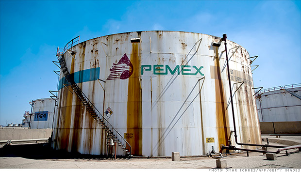 pemex oil