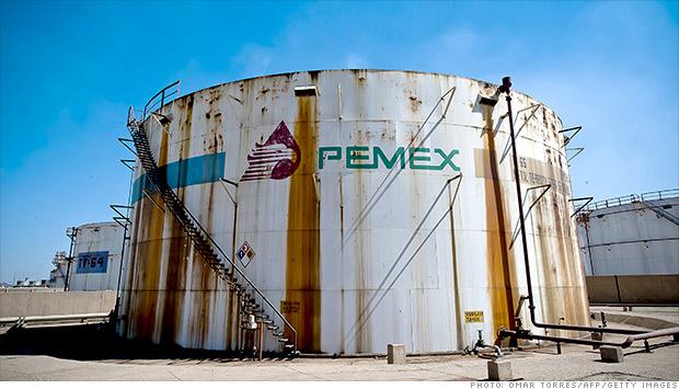 pemex oil
