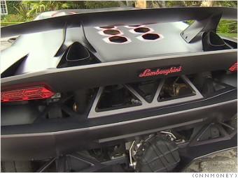 Lamborghini sesto elemento rear