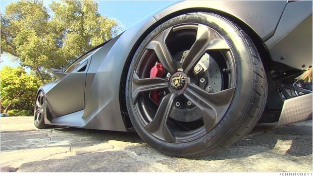 Lamborghini sesto elemento wheel