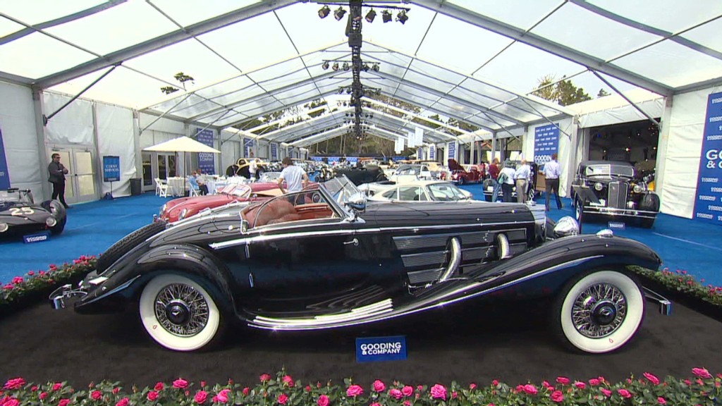 Mercedes sells at auction for record $30 million - Jul. 12, 2013