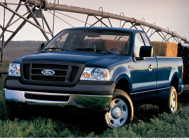 2006 ford f series pickup most stolen cars cnnmoney. Black Bedroom Furniture Sets. Home Design Ideas