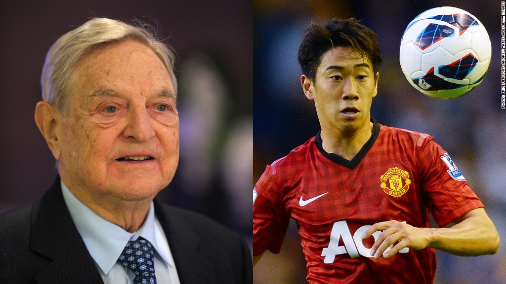 george soros manchester united