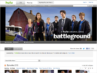 original content hulu battleground