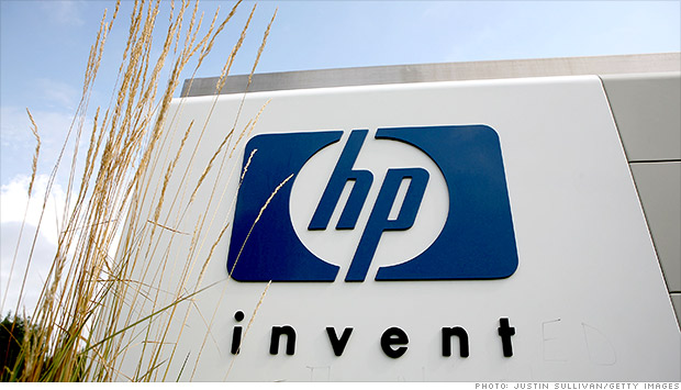 hewlett packard signage
