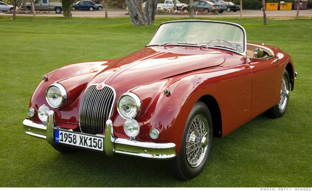 roadsters - jaguar xk150 convertible