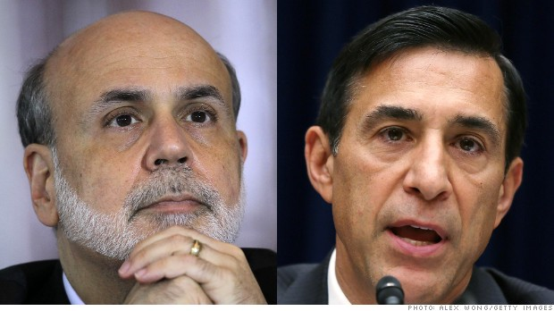 bernanke issa