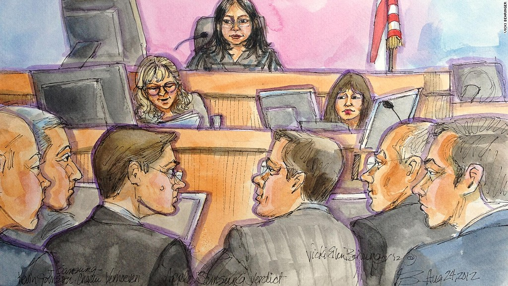 Samsung Court Room Sketch