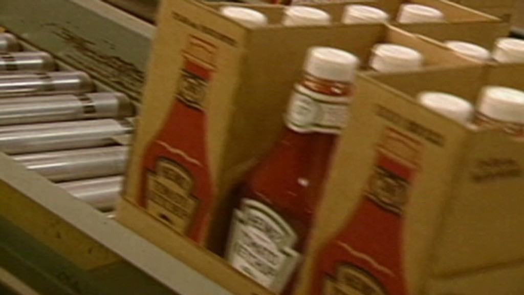 Heinz seeing red