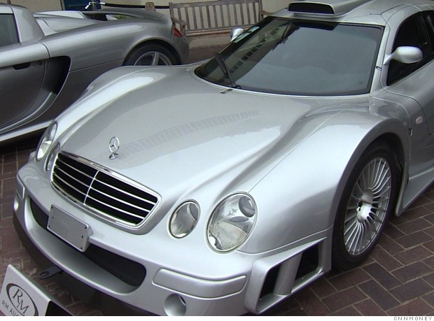 mercedes clk gtr front 2