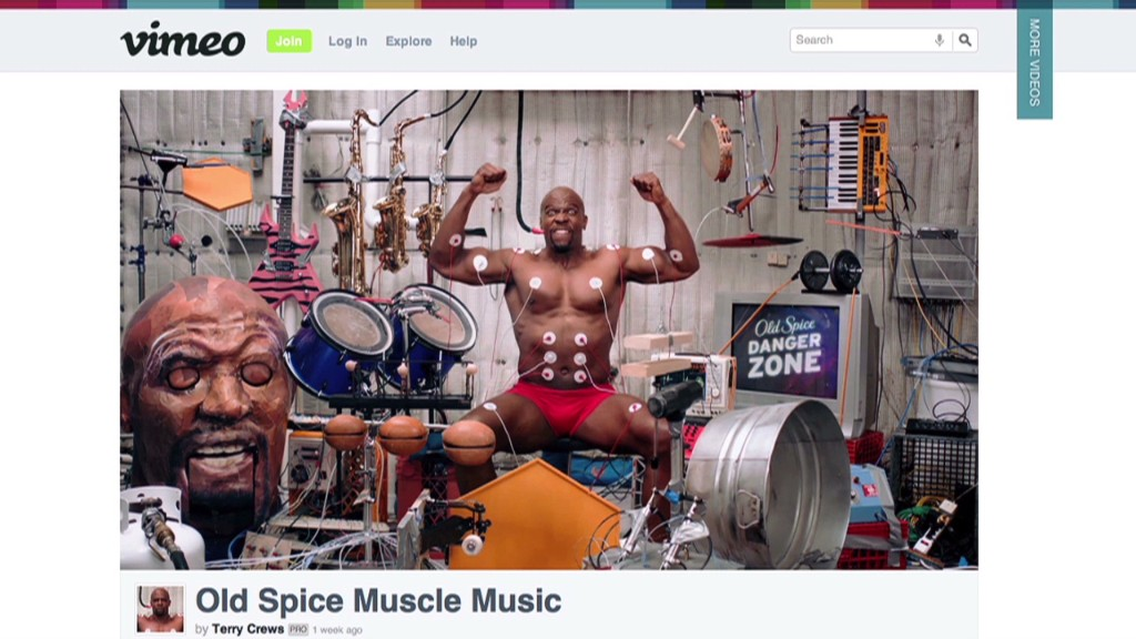 Old Spice flexes its muscles in new ad