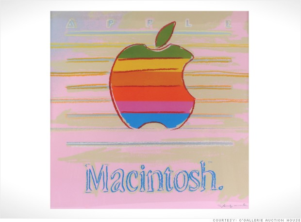 gallery auctions apple warhol