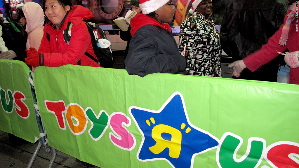 toys r us holiday sales