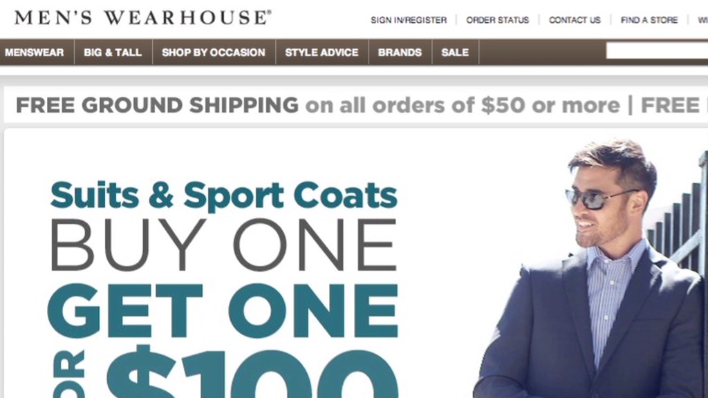 Men's Wearhouse earnings looking sharp