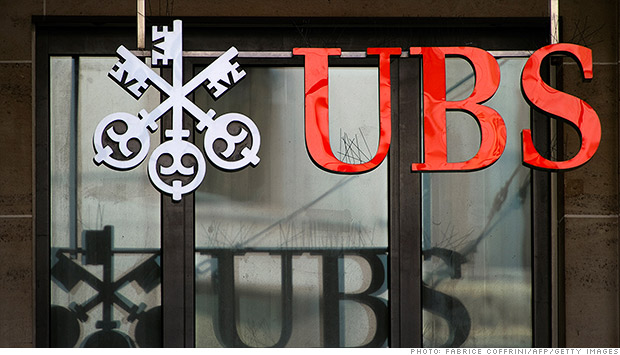 ubs signage