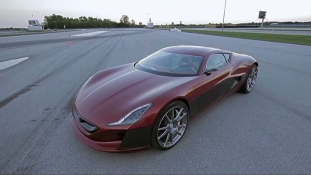 The $1M electric supercar - from Croatia