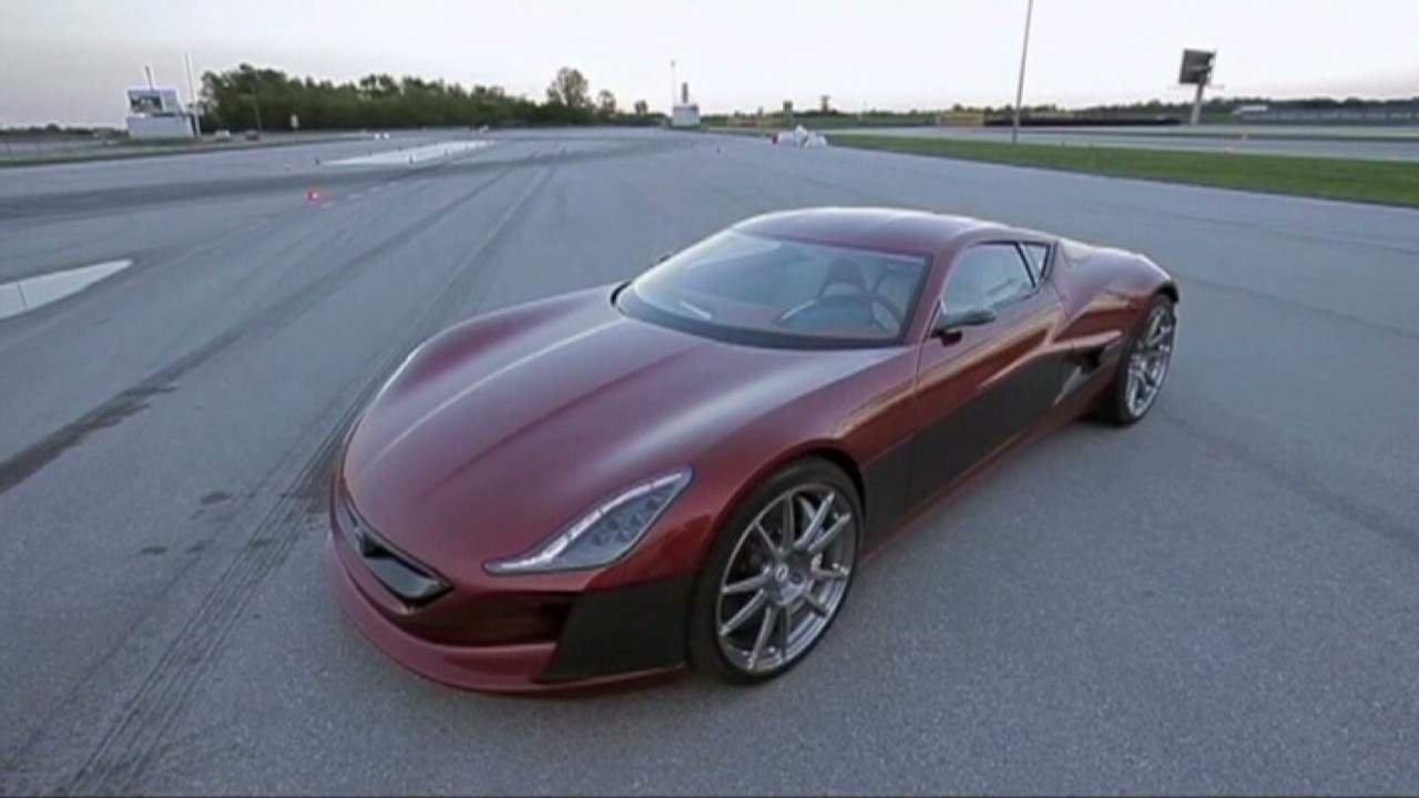 The Rimac Electric Supercar From Croatia Video Personal