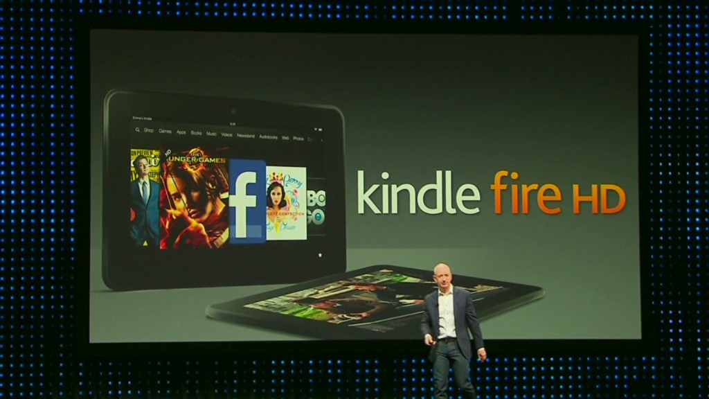Amazon Kindle Fire HD event in 90 seconds