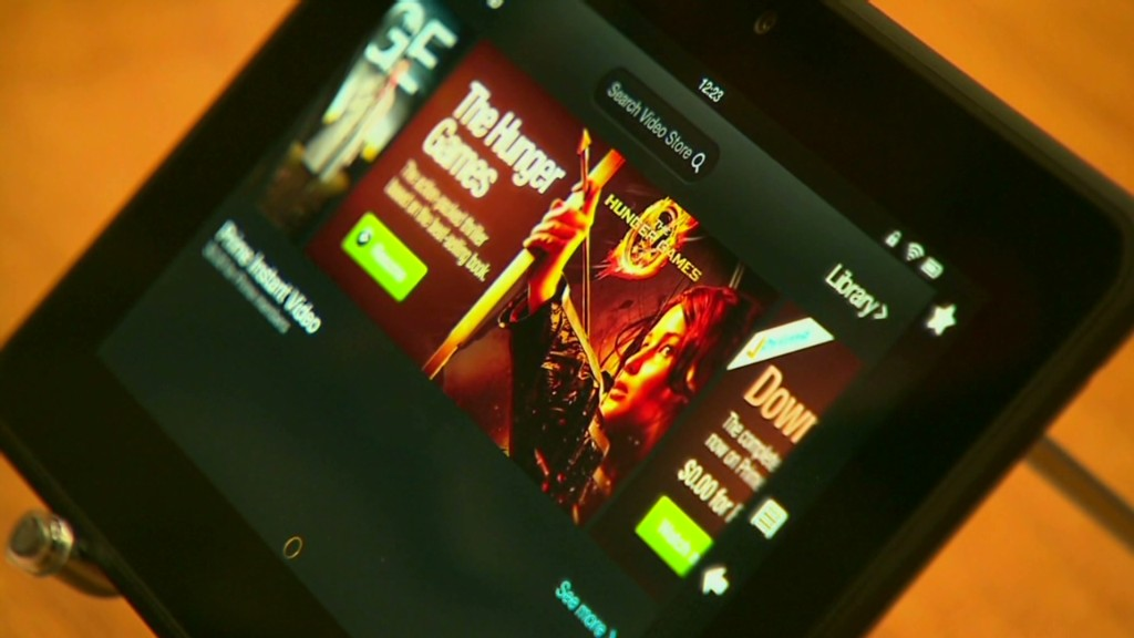 New Kindle tablet targets the iPad