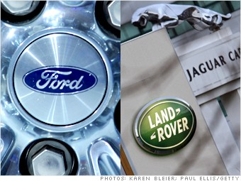 auto company sales ford jaguar land rover