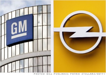 auto company sales gm opel