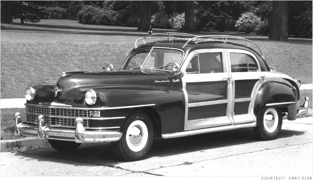 classic car revivals 1946 chrysler town and country