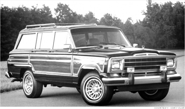 classic car revivals 1986 jeep grand wagoneer