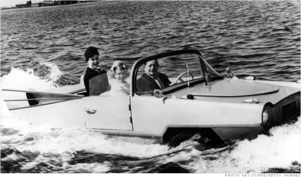 classic car revivals amphicar