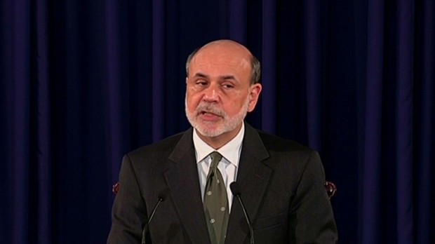 Bernanke's QE3 announcement in 90 secs