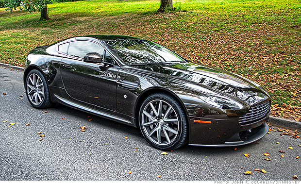 lower priced but by no means cheap aston martin 39 s 39 budget 39 car v8 vantage cnnmoney. Black Bedroom Furniture Sets. Home Design Ideas
